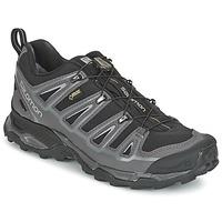 Schuhe Herren Wanderschuhe Salomon X ULTRA 2 GTX Schwarz / Grau