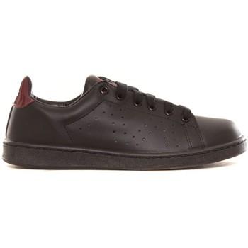 Schuhe Damen Sneaker Low Cassis Côte d'Azur Baskets Marine noir et bordeaux Schwarz