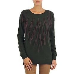 Kleidung Damen Pullover Vero Moda SEATTLE LS FRILL BLOUSE Grau