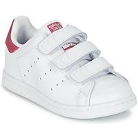 Schuhe Mädchen Sneaker Low adidas Originals STAN SMITH CF I Weiss