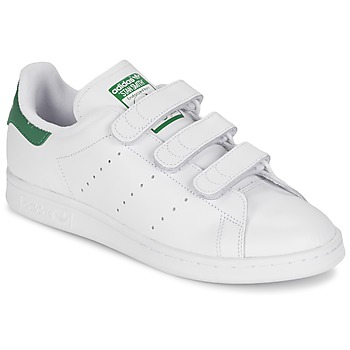 Schuhe Sneaker Low adidas Originals STAN SMITH CF Weiss / Grün