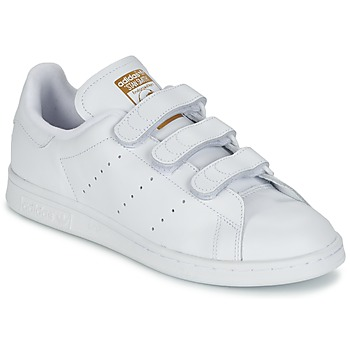 Schuhe Sneaker Low adidas Originals STAN SMITH CF Weiss