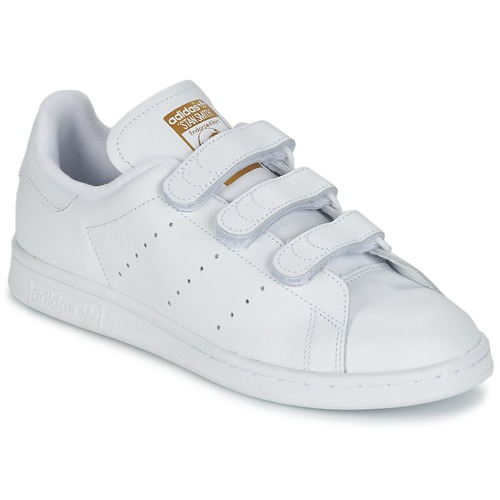 online store 0695a 72254 Schuhe Sneaker Low adidas Originals STAN SMITH CF Weiss