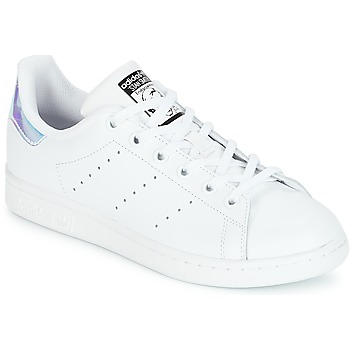 Schuhe Mädchen Sneaker Low adidas Originals STAN SMITH J Weiss