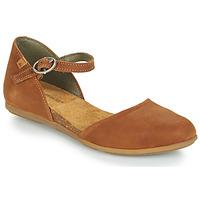 Schuhe Damen Sandalen / Sandaletten El Naturalista STELLA Braun