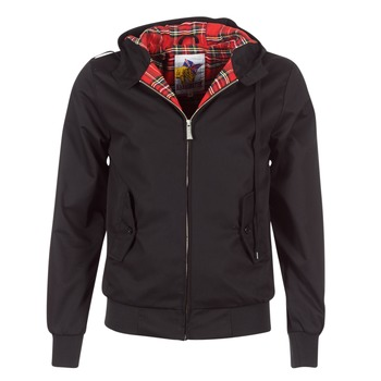 Kleidung Herren Jacken Harrington HARRINGTON HOODED Schwarz