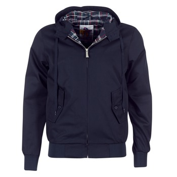 Kleidung Herren Jacken Harrington HARRINGTON HOODED Marine