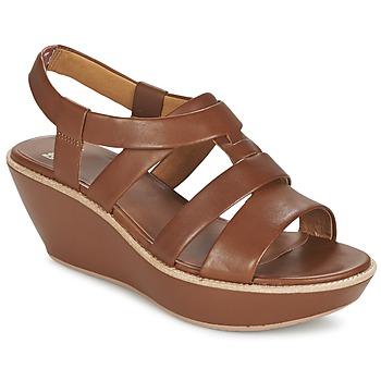 Schuhe Damen Sandalen / Sandaletten Camper DAMAS Braun