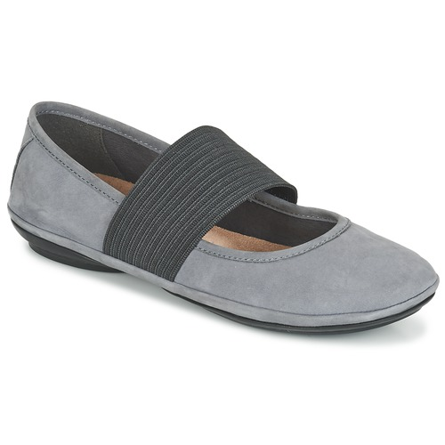 Camper RIGHT NINA Grau  Schuhe Ballerinas Damen 120