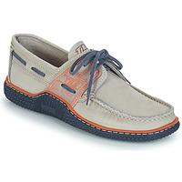 Schuhe Herren Bootsschuhe TBS GLOBEK Grau / Blau