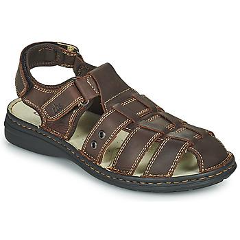 Schuhe Herren Sandalen / Sandaletten TBS BARROW Braun