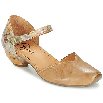 Schuhe Damen Sandalen / Sandaletten Think AIDA Camel