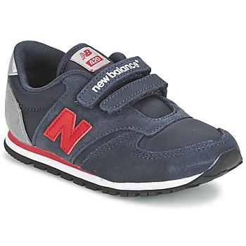 Schuhe Kinder Sneaker Low New Balance KE420 Marine / Rot