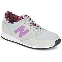 Schuhe Damen Sneaker Low New Balance WL420 Grau / Violett