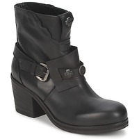 Schuhe Damen Low Boots Strategia MAUTAU Schwarz