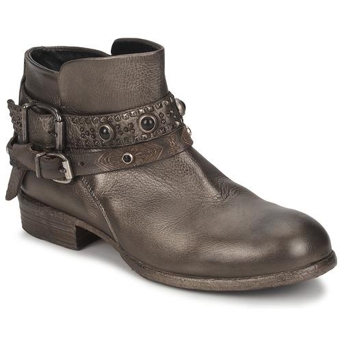 Stiefelletten / Boots Strategia YIHAA Silbern 350x350