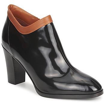Schuhe Damen Ankle Boots Sonia Rykiel 654802 Schwarz / Ocker