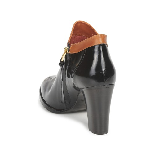 Sonia Sonia Sonia Rykiel 654802 Schwarz / Ocker  Schuhe Ankle Boots Damen 356 5dcce2
