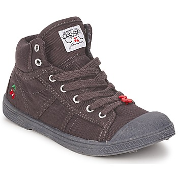 Schuhe Kinder Sneaker High Le Temps des Cerises BASIC-03 KIDS Braun