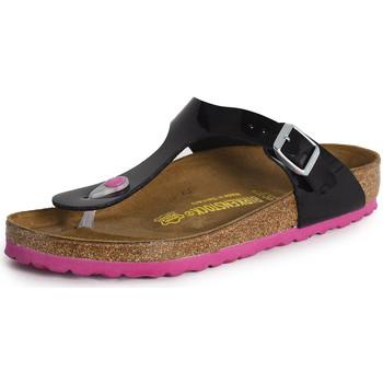 Schuhe Damen Sandalen / Sandaletten Birkenstock Gizeh noir