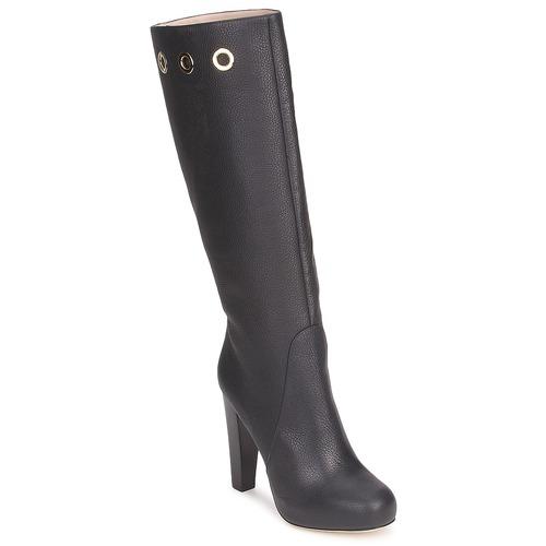 Schuhe Damen Klassische Stiefel Escada EUDOXIE Schwarz