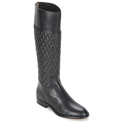 Schuhe Damen Klassische Stiefel Michael Kors MINA Schwarz