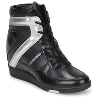 Schuhe Damen Sneaker High Bikkembergs JODIE 2 Schwarz