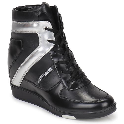 Bikkembergs JODIE 2 Schwarz Schuhe Sneaker High Damen 124,50