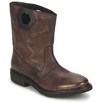 Schuhe Damen Boots Bikkembergs TEXANINO 12 Braun