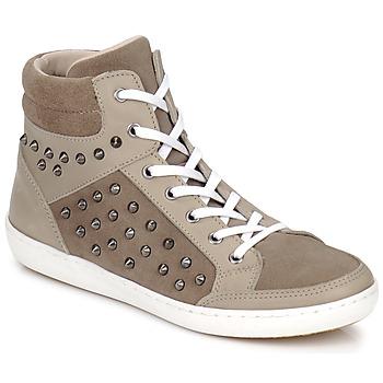 Schuhe Damen Sneaker High Yurban ALTOUVE Maulwurf