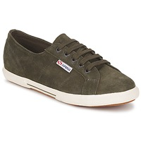 Schuhe Sneaker Low Superga 2950 Kaki
