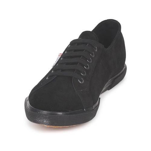 Superga 2950 Schwarz Schwarz Schwarz  Schuhe Turnschuhe Low 60cf92