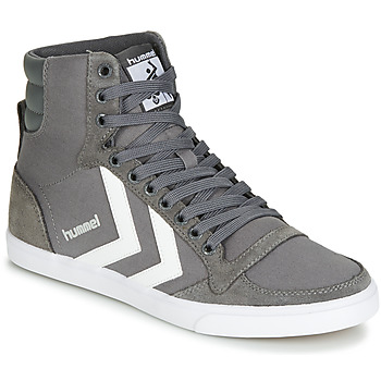 Schuhe Sneaker High Hummel TEN STAR HIGH Grau / Weiss