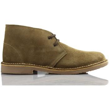 Schuhe Sneaker High Arantxa Arancha pisacacas safari unisex Lederstiefel BEIGE