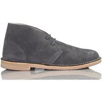 Schuhe Sneaker High Arantxa Arancha pisacacas safari unisex Lederstiefel GRAU