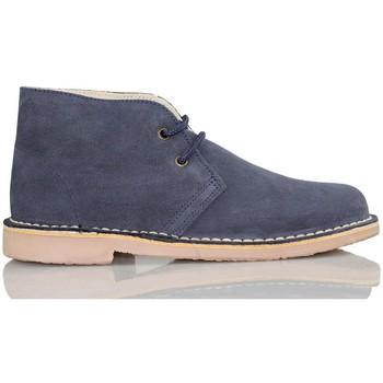 Schuhe Sneaker High Arantxa Ar pisacacas safari Lederstiefel MARINE