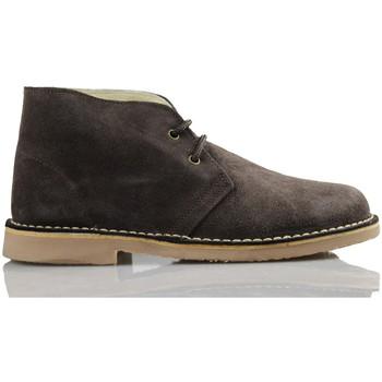 Schuhe Sneaker High Arantxa Ar pisacacas safari Lederstiefel BRAUN