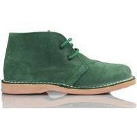 Schuhe Sneaker High Arantxa Ar pisacacas safari Lederstiefel GRUN