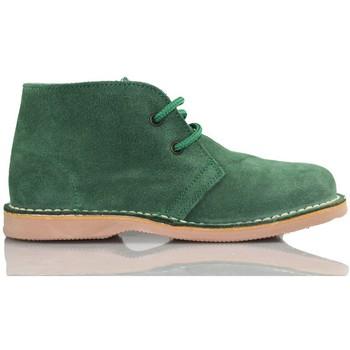 Schuhe Sneaker High Arantxa Arancha pisacacas safari unisex Lederstiefel GRUN