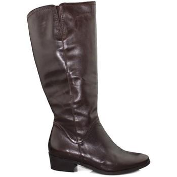 Schuhe Damen Klassische Stiefel Kroc SAVANA TESTA BRAUN