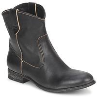 Schuhe Damen Boots n.d.c. SAN MANUEL CAMARRA SLAVATO Schwarz