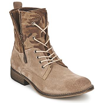 Schuhe Damen Boots Casual Attitude GRIVO Maulwurf