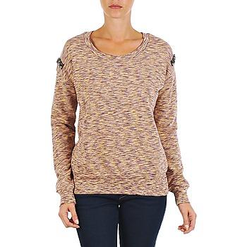 Kleidung Damen Sweatshirts Vila SPACEY SWEAT TOP Violett / Gelb