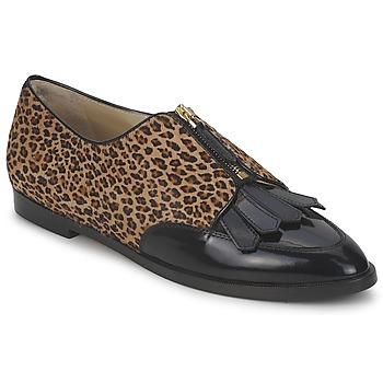 Schuhe Damen Derby-Schuhe Etro EBE Schwarz / Beige