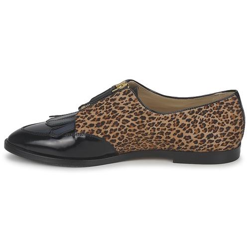 Etro EBE Schwarz Derby-Schuhe / Beige  Schuhe Derby-Schuhe Schwarz Damen 416,50 221d53