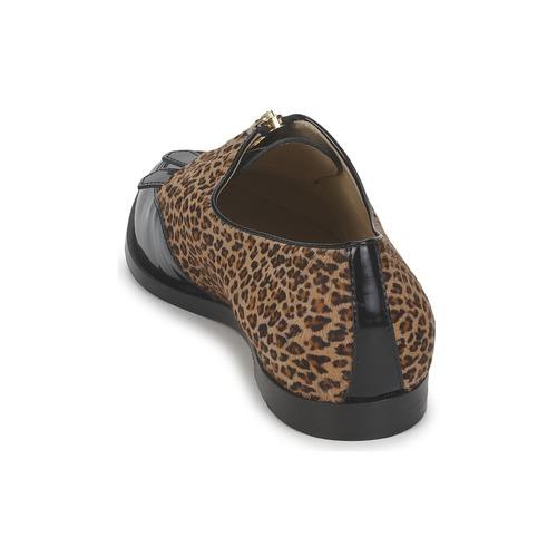 Etro EBE Schwarz /  Beige  / Schuhe Derby-Schuhe Damen 297,50 3826d1