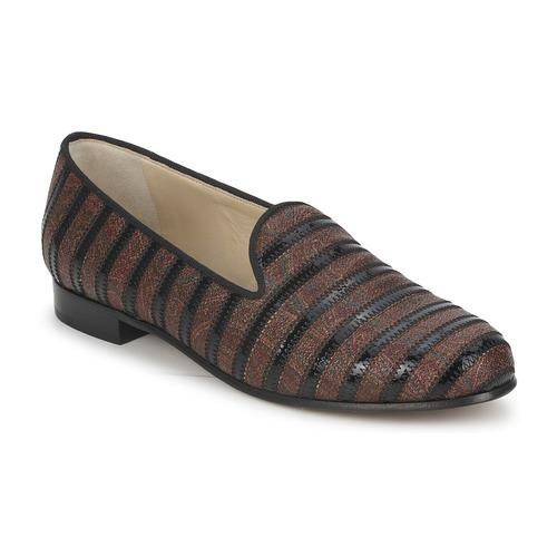 Etro FLORINDA Braun / Schwarz  Schuhe Slipper Damen 343,20