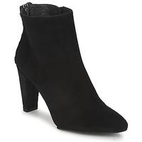 Schuhe Damen Low Boots Stuart Weitzman ZIPMEUP Schwarz