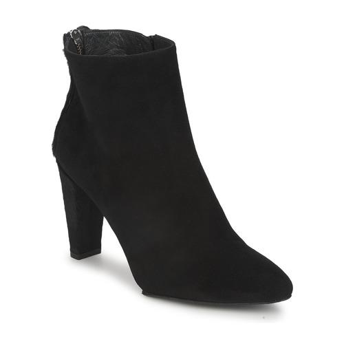 Stuart Weitzman ZIPMEUP Schwarz Schuhe Low Boots Damen 245,10