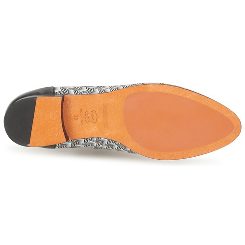 Missoni WM076 Schwarz / Grau Schuhe Richelieu Damen 244,50